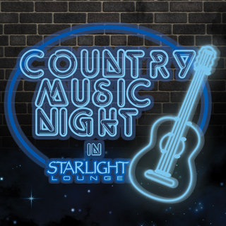 Country Music Night in Starlight Lounge