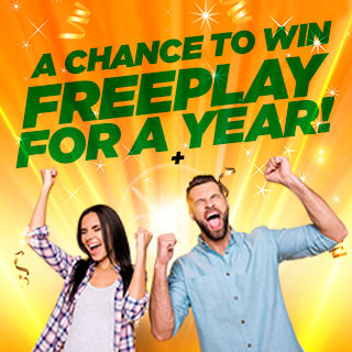 A chance to win Freeplay for a year