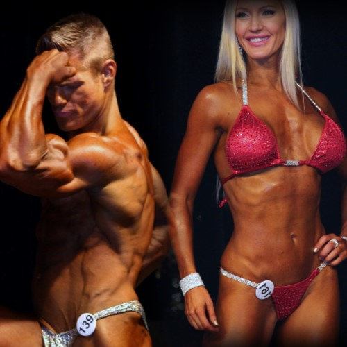 Male and Female Body Builders