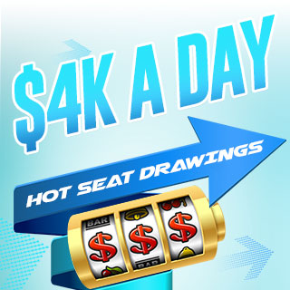 $4K a day Hot Seat Drawings with slot wheel photo