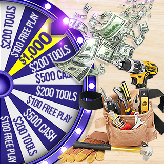Prize Wheel and tools